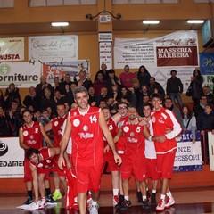 Fbk Trani-Cestistica Barletta 54-79