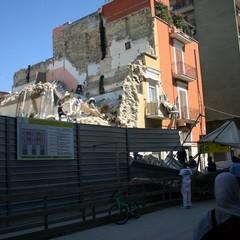 Crollo in via Roma