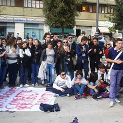 Protesta studentesca a Barletta