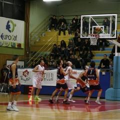 Cestistica vincente contro N.B. Lecce