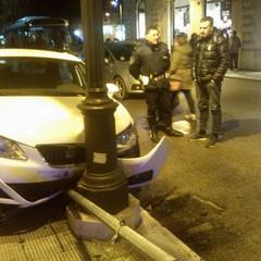 incidente stradale su Corso Garibaldi