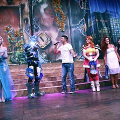 Cristina D'Avena a Molfetta, tra cosplay e cartoni animati