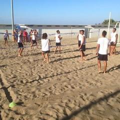 Barletta Beach Soccer al lavoro