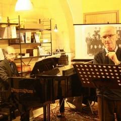 Prof. Luigi Musti e Francesco Paolo Dellaquila