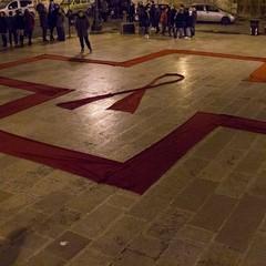 """""""Io lo metto...tu?!"""", il flash mob realizzato dalla Croce Rossa"""