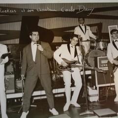 Francesco Corvasce suona la batteria nei Rockers, negli anni '60