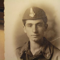 Francesco Corvasce, vigile del fuoco nel 1943