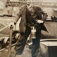 Francesco Corvasce, minatore a Marcinelle, Belgio, 1950