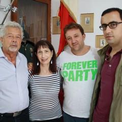 Patrick Sherbo, Maxine, Ruggiero Graziano e Giuseppe Bianco