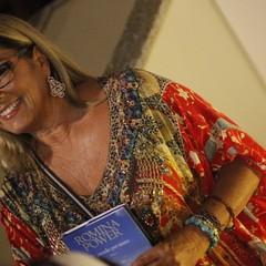 Romina Power, una signora dolce e sorridente e dai modi preziosi