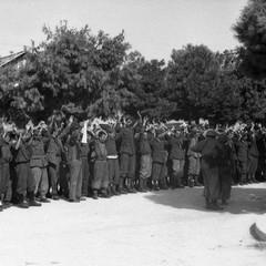 Soldati italiani catturati dai soldati tedeschi a Barletta, 12 settembre 1943