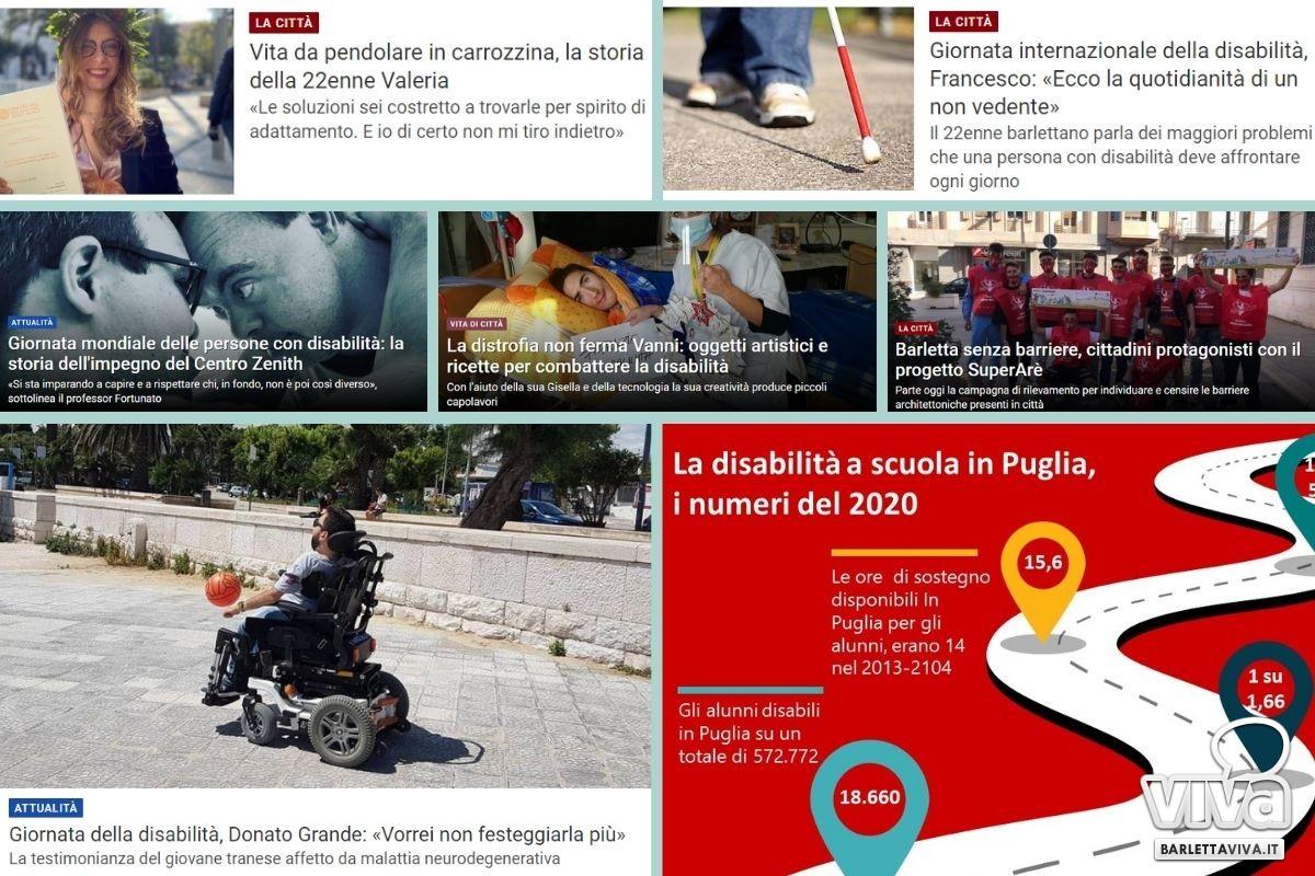 Articoli dedicati alla giornata internazionale delle persone con disabilit