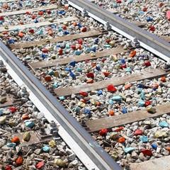 """L'installazione """"Mosaico di Aufidus"""" a cura del Laboratorio di immaginazione urbana"""