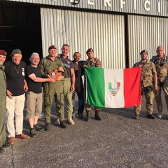 Con l'ospedale da campo rinnovato il legame tra Marò e paracadutisti barlettani