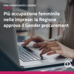 Regione Puglia - gender procurement