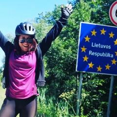 Antonella Gentile, cicloviaggiatrice di Barletta