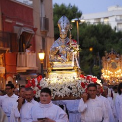 Festa Patronale 2019, i Santi Patroni di Barletta in processione
