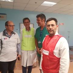 "Maxiemergenza a Barletta, simulazione all'ospedale ""Dimiccoli"""