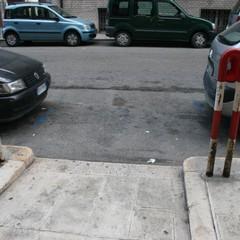 Barletta non è a misura di carrozzella, una passeggiata in città