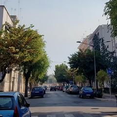Fumo denso e puzzolente in via Rizzitelli e Vitrani