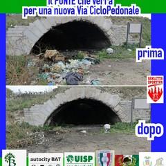 """""""Il ponte che verrà"""", l'iniziativa dell'associazione Barletta Sportiva"""