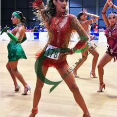 Ballerina in gara a Rimini