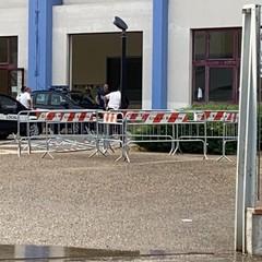 Bomba d'acqua a Barletta