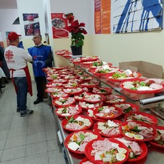 Cena di Natale alla mensa Caritas di Barletta