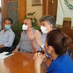 Conferenza stampa, analisi del crollo di via Curci