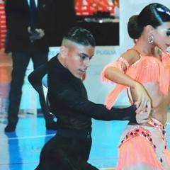 Danza sportiva, vittoria emozionante per Ilaria e Giovanni Tesse di Barletta