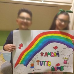 Barletta, andrà tutto bene: i disegni dei bambini barlettani