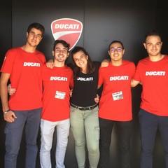 Da Barletta a Bologna a scuola di fisica con la Ducati