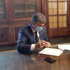 Firma protocollo scuola via Morelli