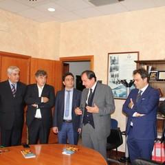 Accolta in Comune una delegazione di imprenditori iraniani