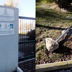"""Giardini """"Baden Powell"""" di Barletta, dove il degrado è di casa"""