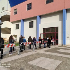 Vaccinazioni al PalaBorgia di Barletta