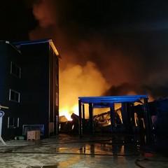 Incendio ad Andria
