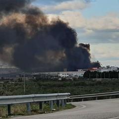 Incendio Barletta