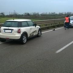 Incidente sulla SS16bis tra Barletta Sud e Boccadoro, ferita una donna