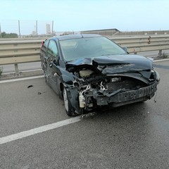 Incidente stradale tra Patalini e Barletta centro