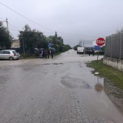 Incidente stradale in via Minervino