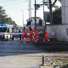 Torna l'incubo al passaggio a livello di via Andria, investito dal treno su una bicicletta
