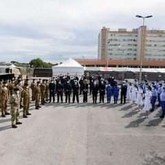 Lospedale militare di Barletta sta per smontare le tende