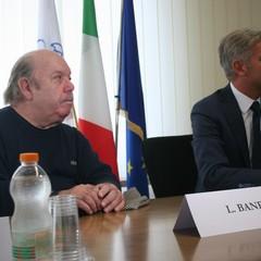Lino Banfi e la sua allegria a Confindustria