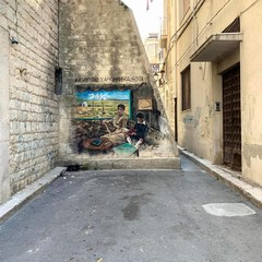 Murale De Nittis dellartista Borgiac