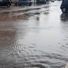 Pioggia intensa su Barletta