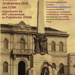 Ex Palazzo delle Poste, le associazioni su Zoom