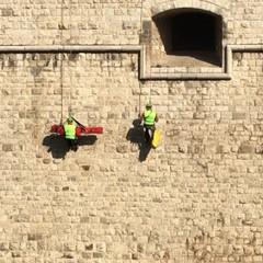 Settimana della Protezione Civile 2019, dimostrazione al castello di Barletta