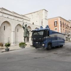 Sanificazione della strade di Barletta