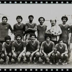 Il portiere Michele Filannino nella sua squadra